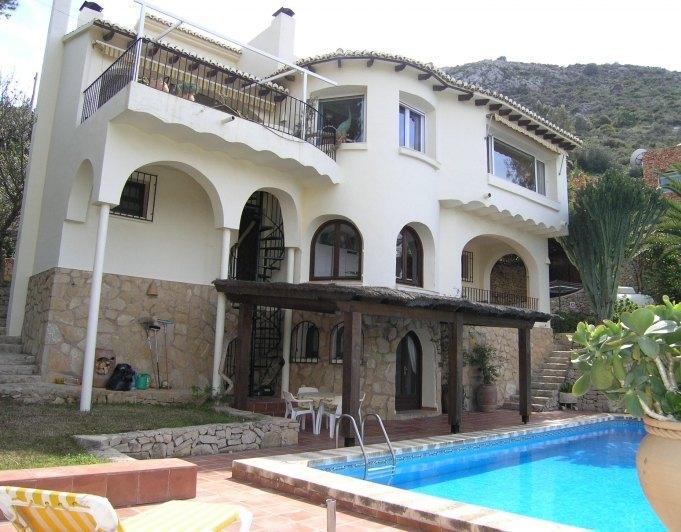 Villa moraira el portet de magnifiques vues sur la mer - Villa el portet ...